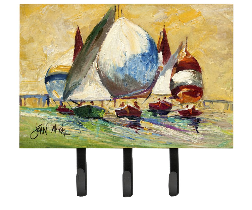 Caroline's Treasures JMK1033TH68 Bimini Sails Sailboat Leash or Key Holder, Large, Multicolor