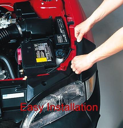 Covercraft LeBra 551208-01 Custom Fit Front End Cover for Ford Fusion Vinyl, Black