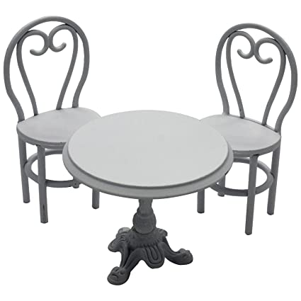 Amazon Com Encharted Garden Bistro Table With 2 Chairs Outdoor Or