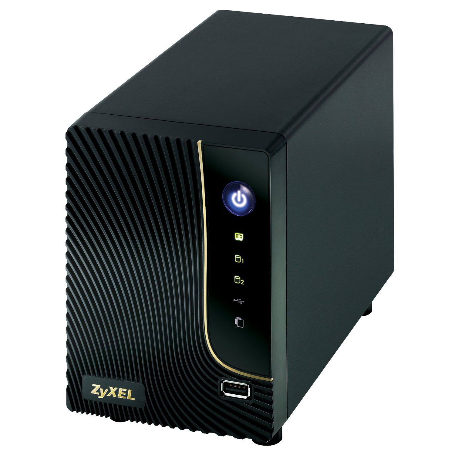 ZyXEL NSA320 High Performance 2-bay Network Attached Storage and Media Server