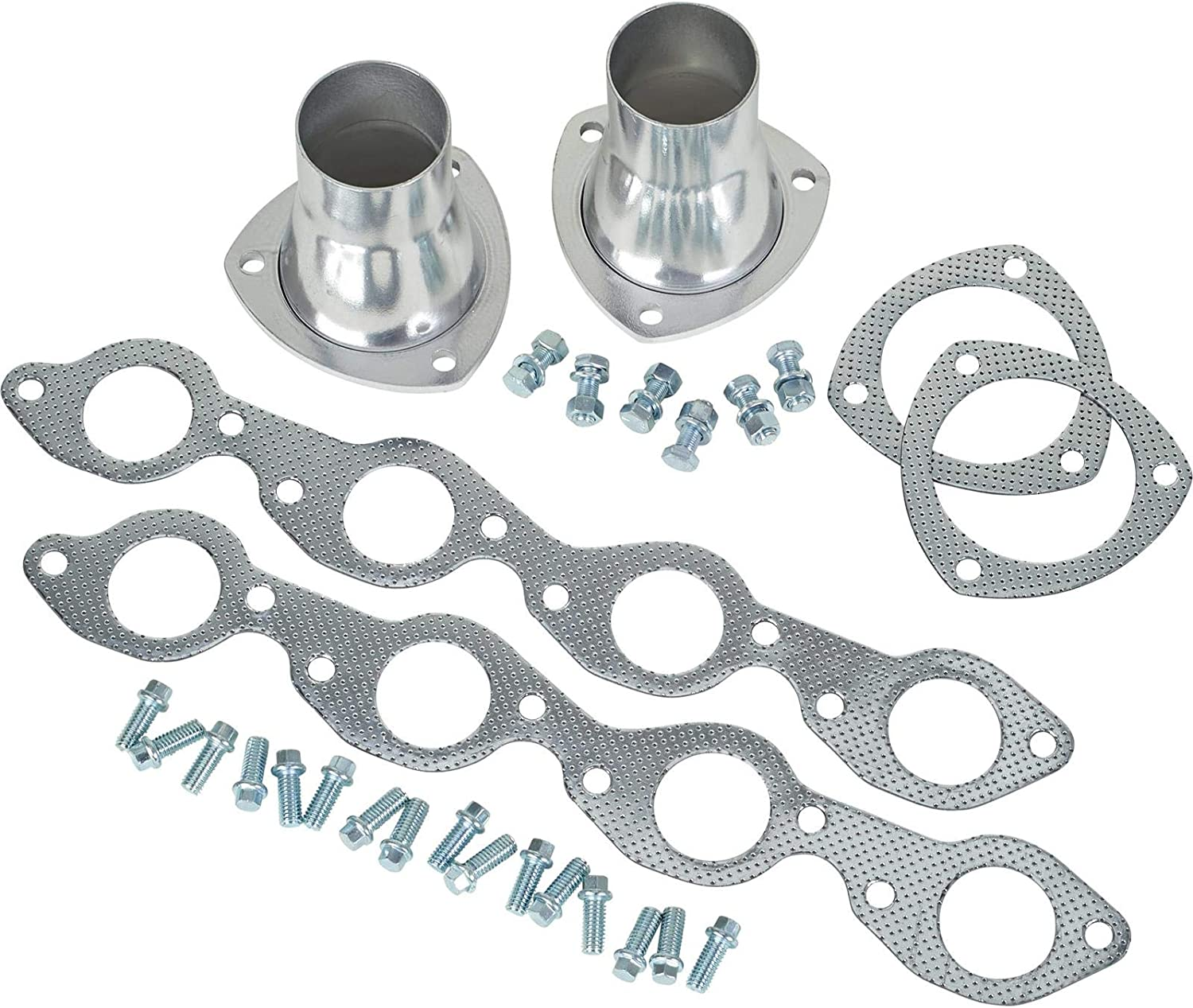 Big Block Fits Chevy Fenderwell Headers for 1955-57 Fits Chevy AHC Coated