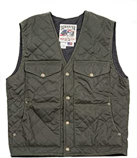 product image for Schaefer Outfitters Blacktail Quilted RangeWax Vest
