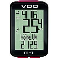 VDO M4.1 WR Fahrradcomputer (kabelgebunden) 34 Funktionen mit Höhenmesser