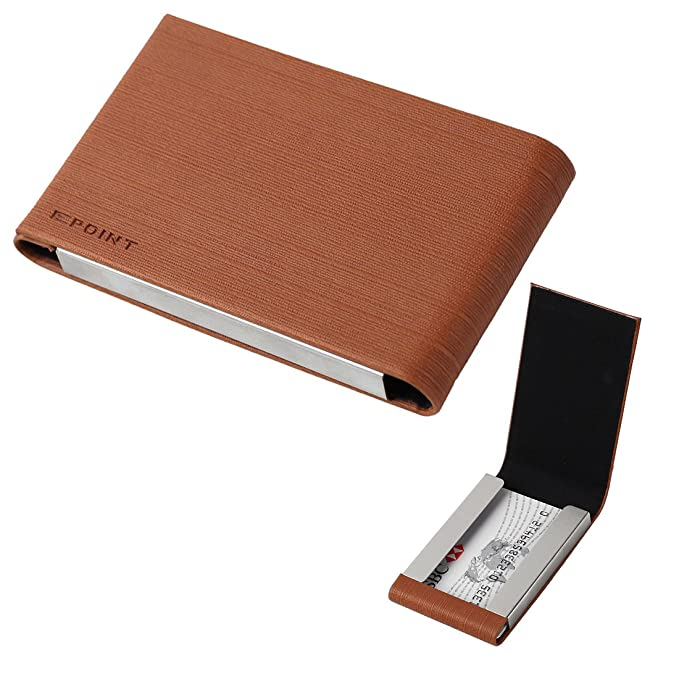 EDC03 Hombres Tarjeta de crédito/ID titular de la tarjeta con la caja de regalo varios colores por Epoint - Bronce -: Amazon.es: Ropa y accesorios