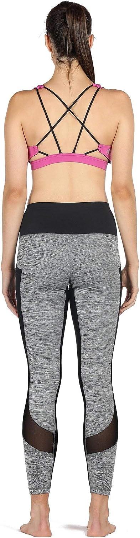 Mujer icyzone Leggings para Damas Pantalones Yoga Largos