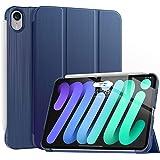 Soke New iPad Mini 6 Case 2021 - [Slim Trifold Stand + 2nd Gen Apple Pencil Charging + Smart Auto Wake/Sleep], Premium Protec