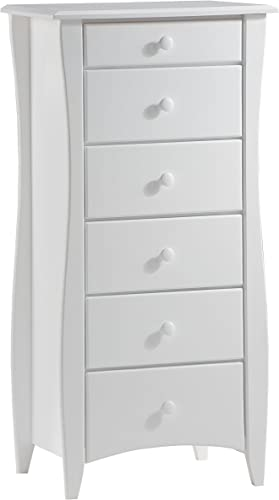 Cheap Night Day Furniture 6 Drawer Clove Lingerie Chest bedroom dresser for sale