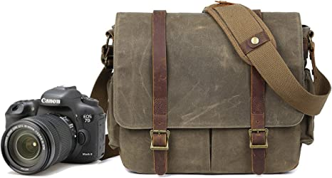 Bolsa para cámara réflex digital impermeable, de estilo mensajero ...