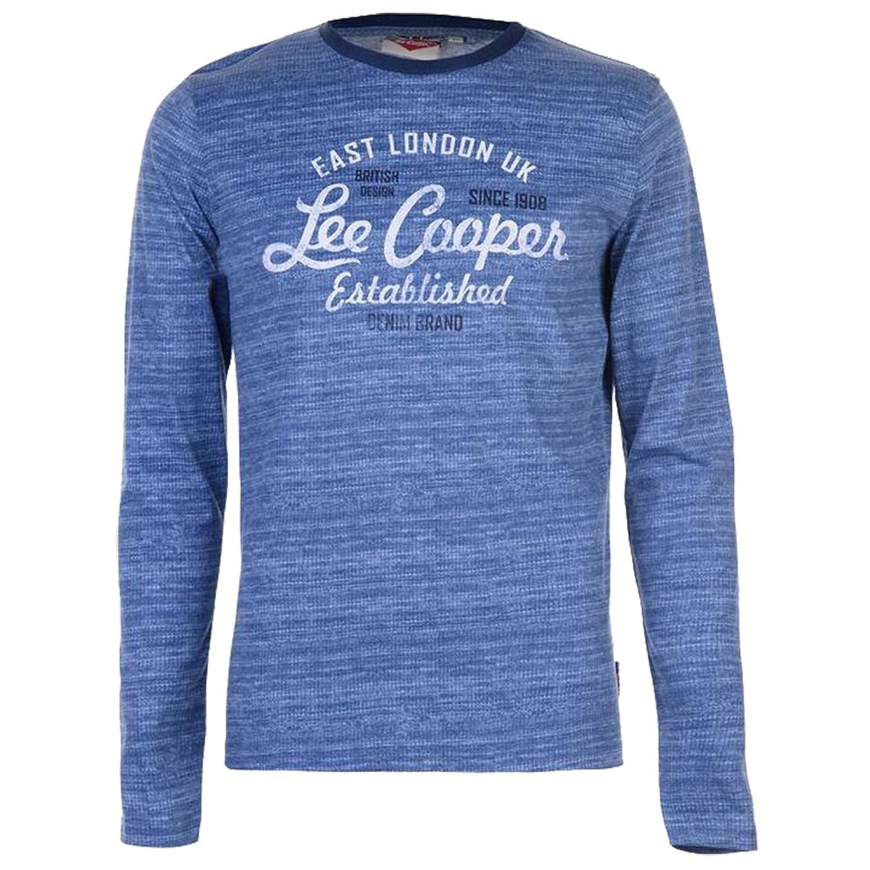 Longue Texturé Manche T Shirt5bxcl1201367 Lee Hommes Aop Cooper O8P0wXZkNn