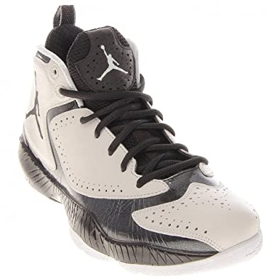 Air Jordan 2012 A Fly Over Mens Basketball Shoes White/Black-Black 508318-180-9