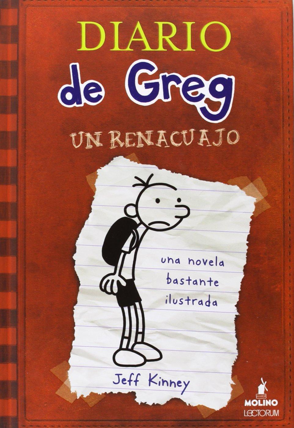 Diario De Greg Spanish Edition Jeff Kinney Lectorum Publications Pin Cartoon Pictures On Pinterest 9781933032528 Books