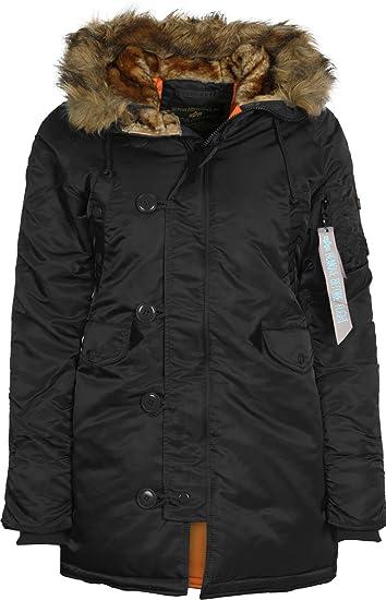 e8458cd5 Alpha Industries Women Jackets/Winter Jacket N3B VF 59: Amazon.co.uk ...