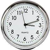 Anki Car Dashboard Clock Table Classic Small Round Analog Qu