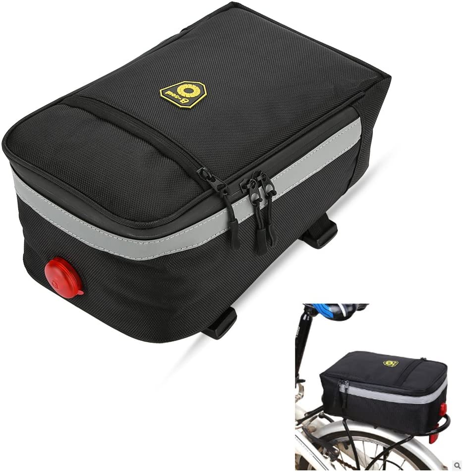 B-SOUL Bike Bicycle Rear Seat Rack Bag Insulation Cool Storage Pack Pannier Bag