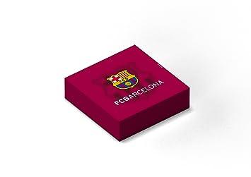 F.C. Barcelona Pack 20 servilletas papel 33x33 cm: Amazon.es: Juguetes y juegos