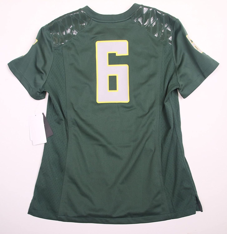 effa413f0 Amazon.com   Oregon Ducks (Deanthony Thomas)  6 Nike Women s Green Replica  Game Jersey Large   Sports   Outdoors