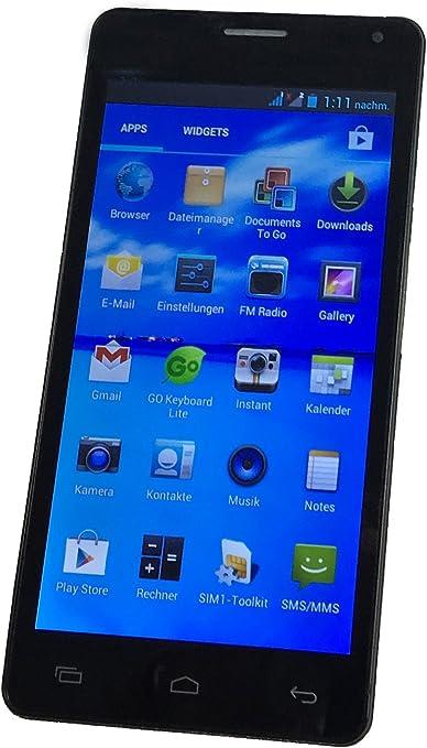 5 Infantil Teléfono Móvil/Niños de Smartphone Negro + Control ...