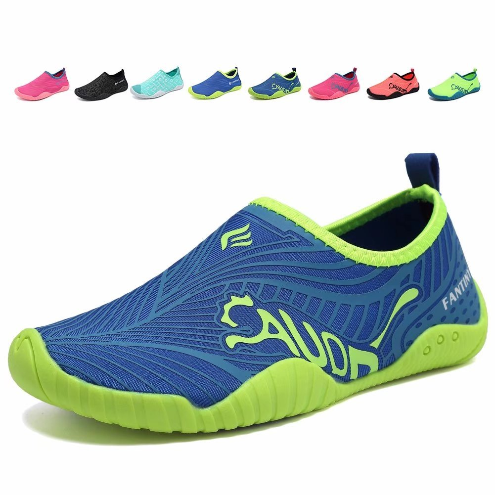 3f5be07dee36 CIOR Kids Water Shoes Quick-Dry Boys and Girls Slip-on Aqua Beach Sneakers