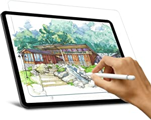 [2 Pack] Like Paper Screen Protector for iPad Pro 11 2020/2018 & iPad Air 4th Gen, Fojojo Anti Glare, Anti Scratch, Fingerprintproof Matte PET Film for Writing & Drawing, Compatible with Apple Pencil