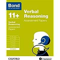 Bond 11+: Verbal Reasoning: Assessment Papers: 5-6 years