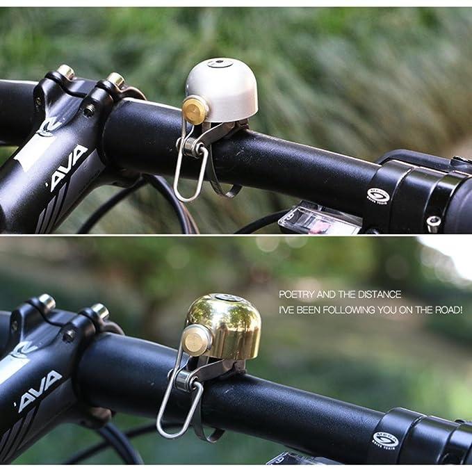 hcfkj Rueda Up metal Bell Anillo bicicleta de montaña bicicleta ...