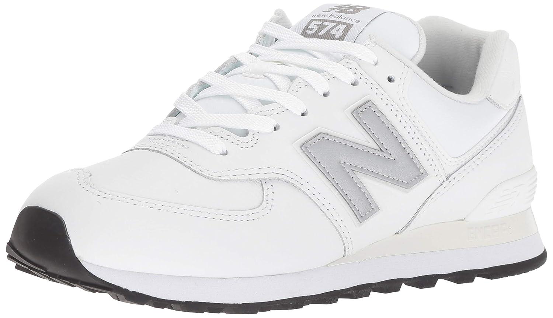 New Balance 574v2, Zapatillas para Hombre 45 EU|Blanco (Munsell White/Nimbus Cloud Lpw)