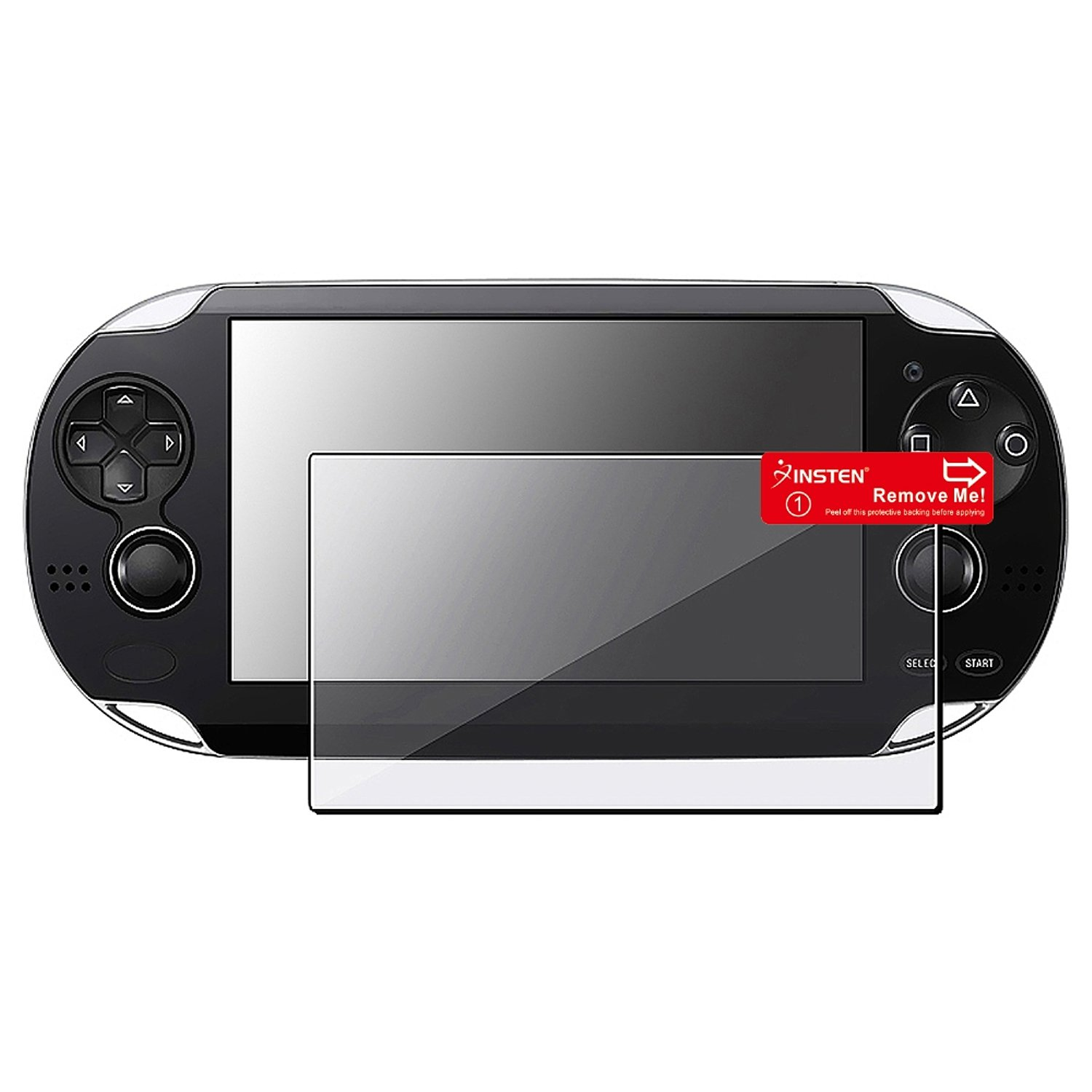 Insten CE Compass Clear LCD Screen Protector Cover Guard Compatible with Sony PS Vita Playstation Vita