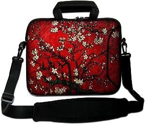 Goldwheat Waterproof Laptop Bag 17 17.3 Inch Briefcase Messenger Shoulder Bag