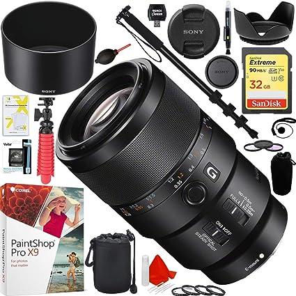 Amazon.com: Sony SEL90 M28G FE 90 °F2.8 Macro G OSS E-mount ...
