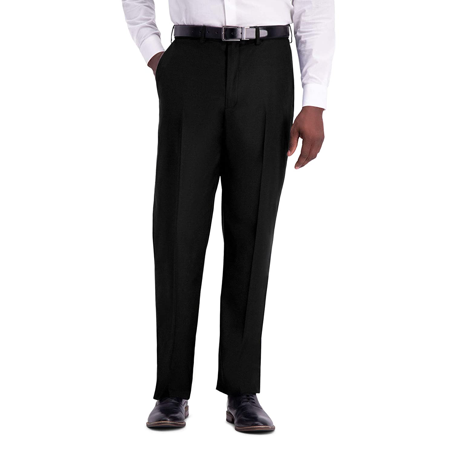 Haggar Mens Texture Weave Stretch Classic Fit Suit Separate Pant HY00314