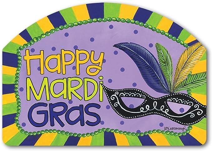 Mardi Gras Lawn Sign