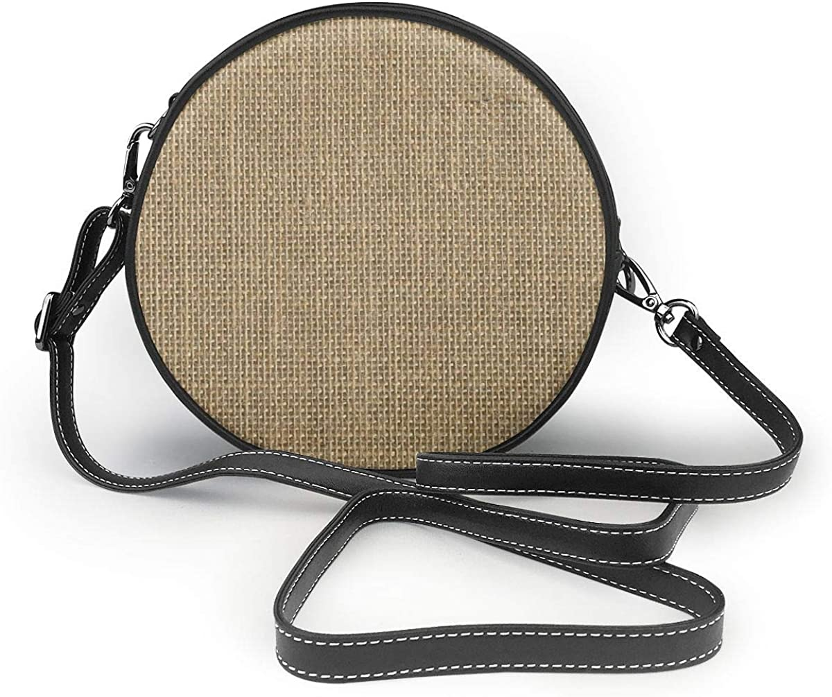 Bolsa de arpillera de tejido natural color beige con cierre de cremallera, bolso para teléfono celular, para mujer