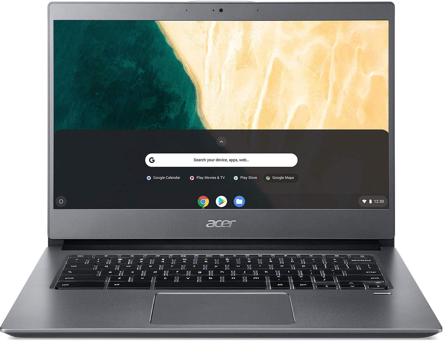 Acer 13.5 4417U 8G 32MMC Chrome, Gray, Model: NX.HAYAA.002
