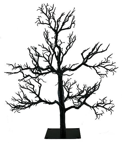 amazon com kurt adler black spooky halloween tree oe21 hw0522