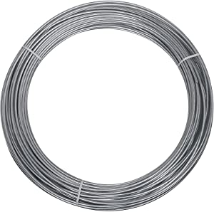 National Hardware N266-973 2568BC Wire in Galvanized,12 Ga x 100'