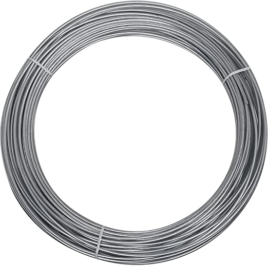 x 100/' Wire in Galvanized National Hardware 2568BC 12 Ga