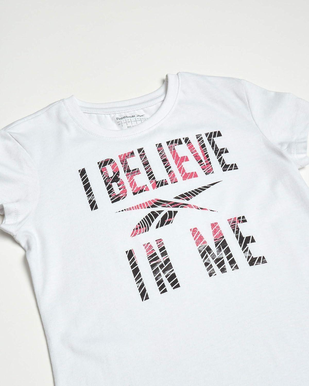 Reebok Girls Athletic Twist Front Fashion T-Shirt (2 Pack): Clothing