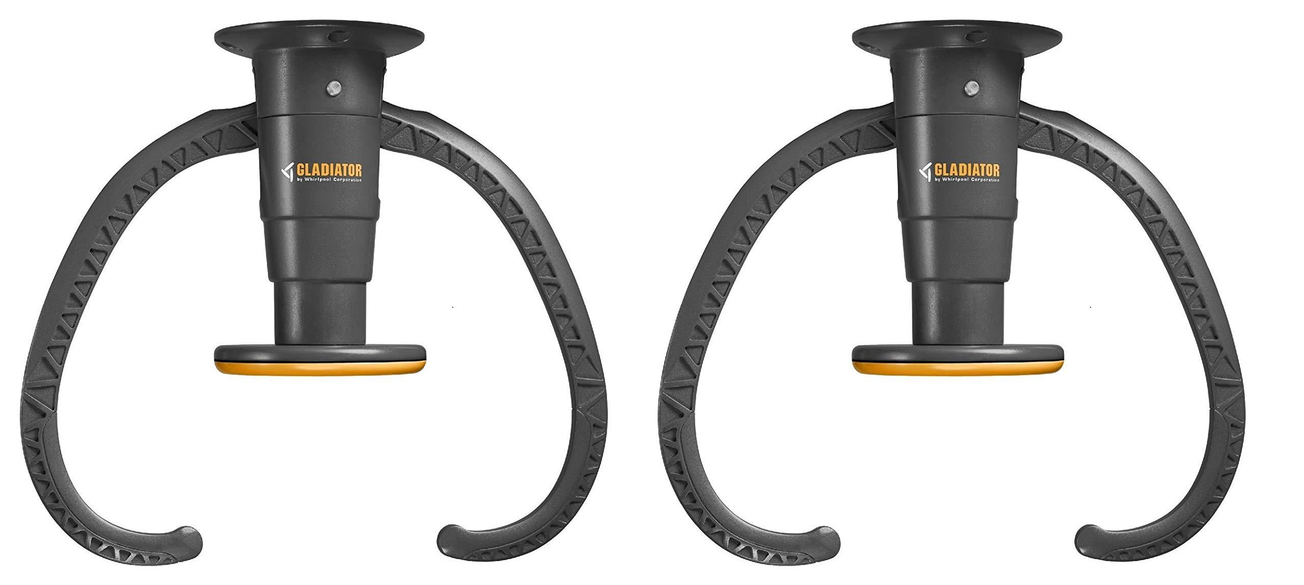 Gladiator GarageWorks GACEXXCPVK Claw Advanced Bike Storage v2.0, Plastic (Pack of 2)