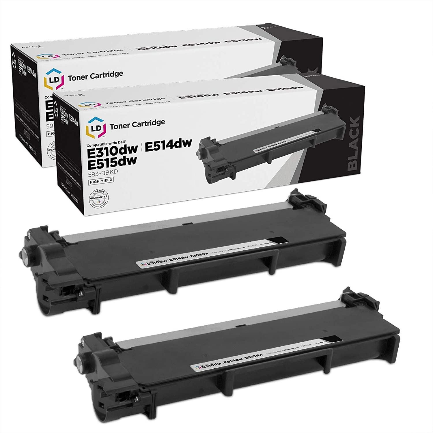 CNY Toner 3 Packs Compatible Dell 330-1194 Toner