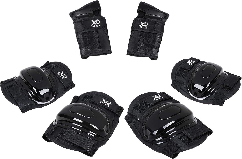 satz Kinder Skaten Fahrradhelm Schutz Ellenbogen Knie Handgelenk   MW 7 Teile
