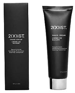 2XIST Shaving Cream For Men Natural Luxury Cooling Shave Cream Smooth moisturizing Cream Shaving For Men Lather Shaving Cream Men Scented Mens Shaving Cream with Vitamin E Jojoba Oil Squalane Aloe