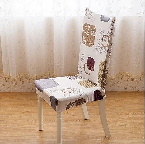 Amazon.com: Universal elástico Spandex funda de silla de ...