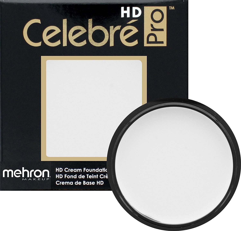 Mehron Makeup Celebre Pro-HD Cream Face & Body Makeup (.9 oz) (WHITE)