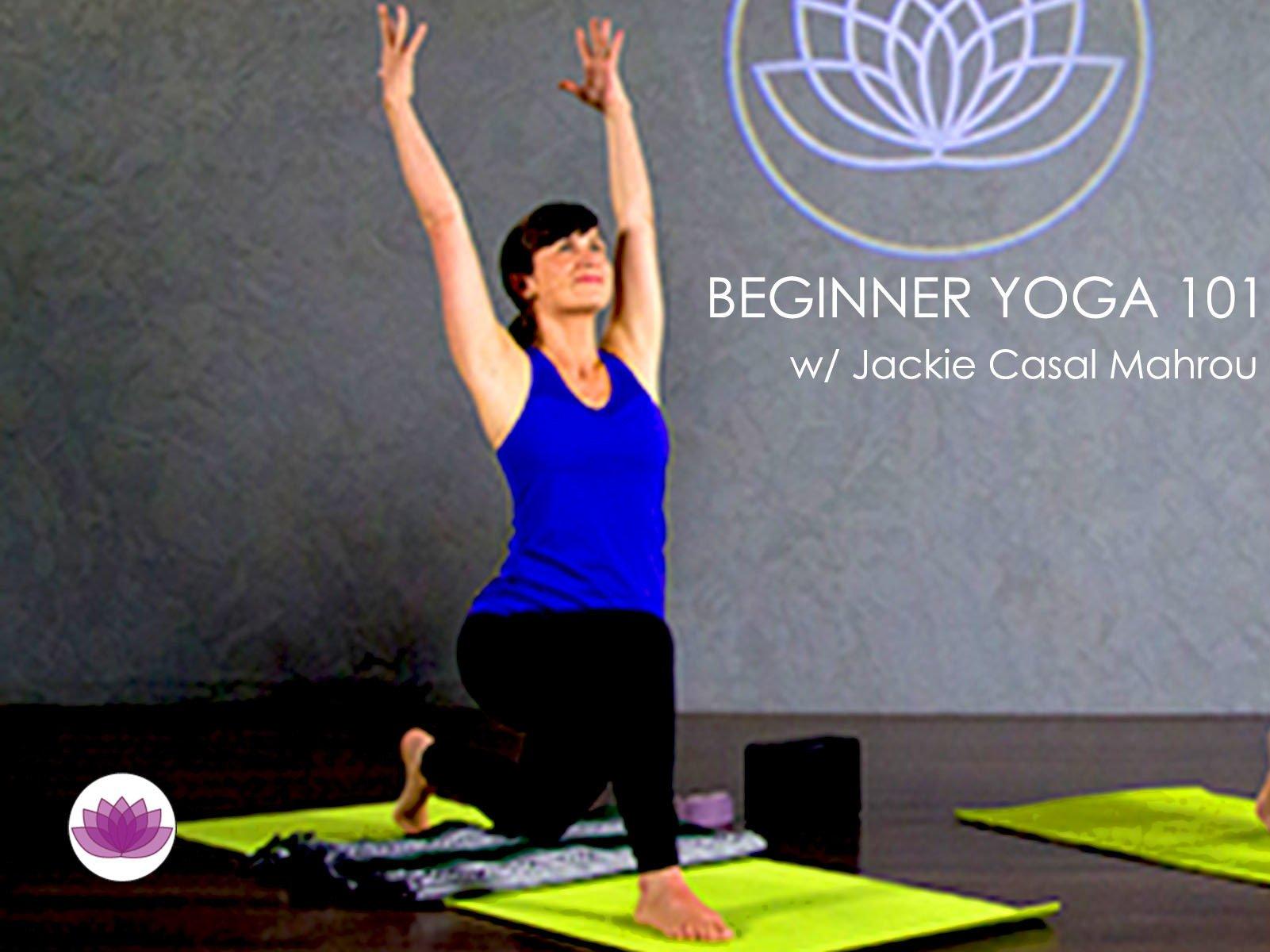 Beginner Yoga 101 on Amazon Prime Video UK