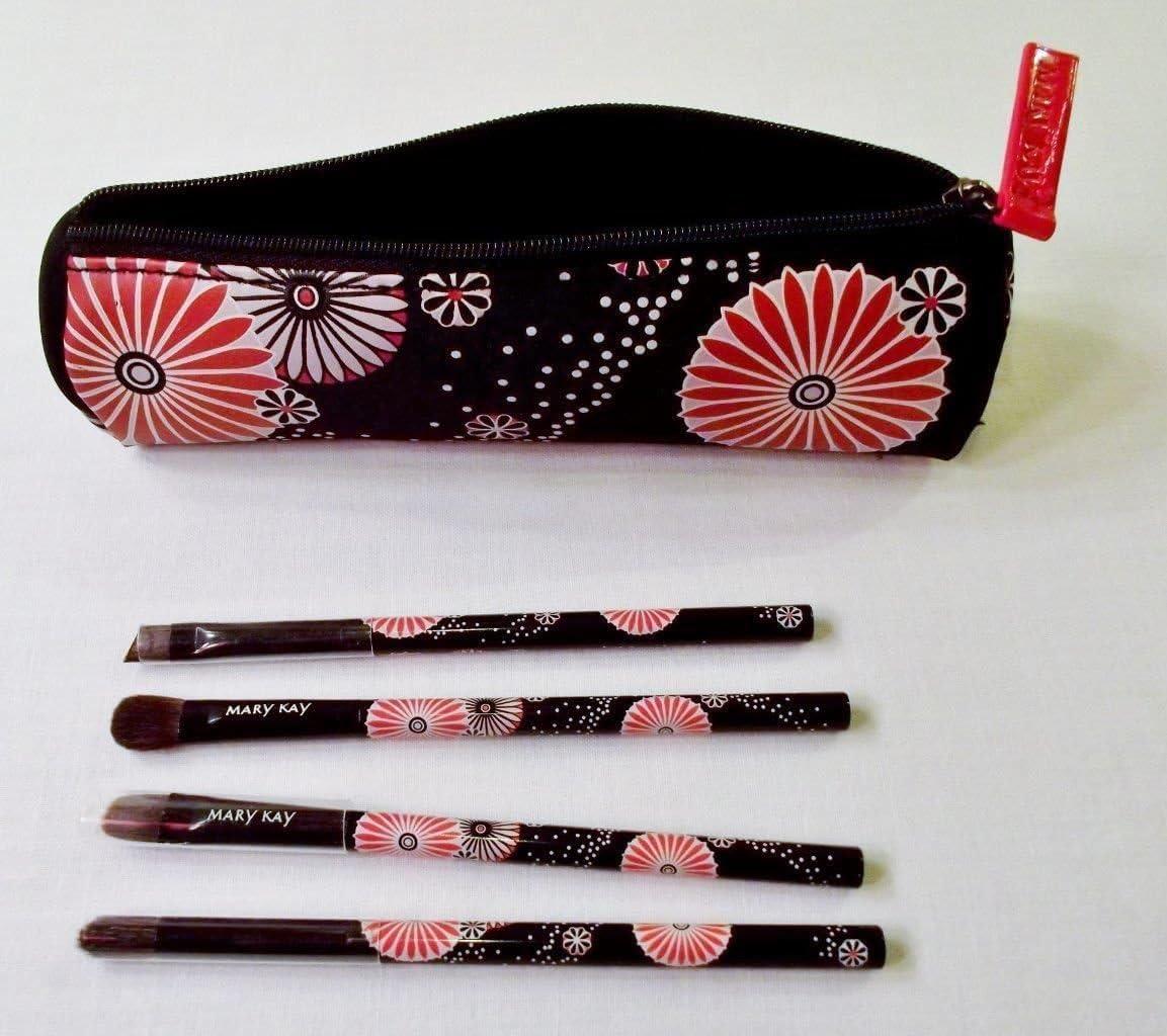 Mary Kay - Juego de pinceles para ojos con bolsa, edición limitada: Amazon.es: Belleza