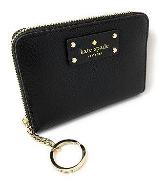 244a802e045c8 Kate Spade New York Kate Spade Grove Street Dani Leather Zip Around Wallet  Key Chain Ring Black