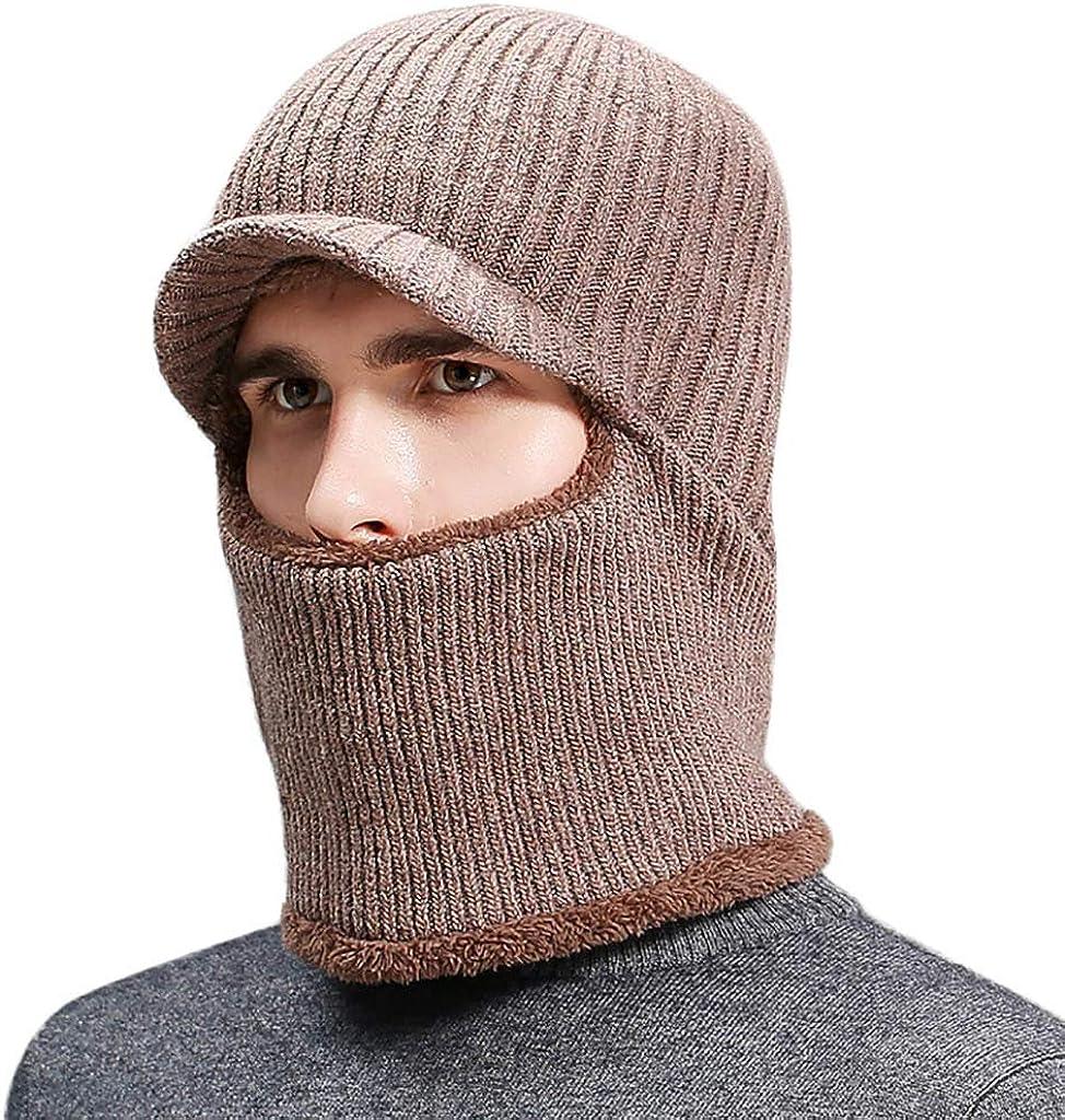 Fashion Men Winter Cap Hat Baggy Beanie Knit Crochet Ski Warmer Cap Hats N7
