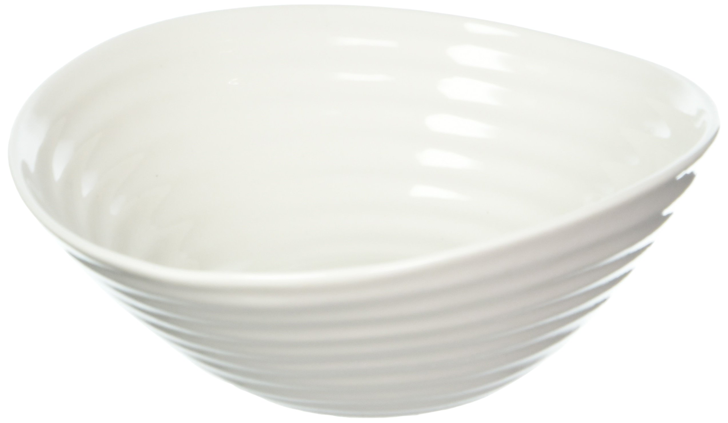 Portmeirion Sophie Conran White Dinnerware Cereal Bowl, 7.25-Inch