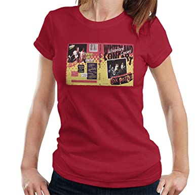 31ad552aa613 Image Unavailable. Image not available for. Colour: The Sex Pistols  Winterland Concert San Francisco 1978 Women's T-Shirt