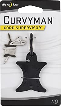 Nite Ize Curvyman Cord Supervisor & Headphone Cord Wrap